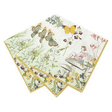 Truly Fairy Paper Napkins - pack of 20, large